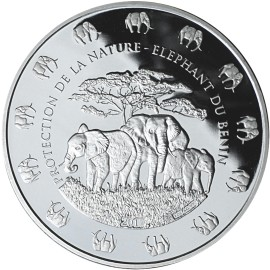 1 Kilo Silver  Elefant 2016