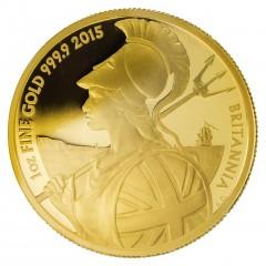 1 oz Britannia Gold 2015 proof