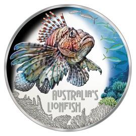 1 Unze Silber Rotfeuerfisch Deadly& Dangerous 2019 Tuvalo