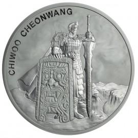 1 oz Unze  Silber Südkorea South Korea Chiwoo Cheonwang 2019 1 Clay