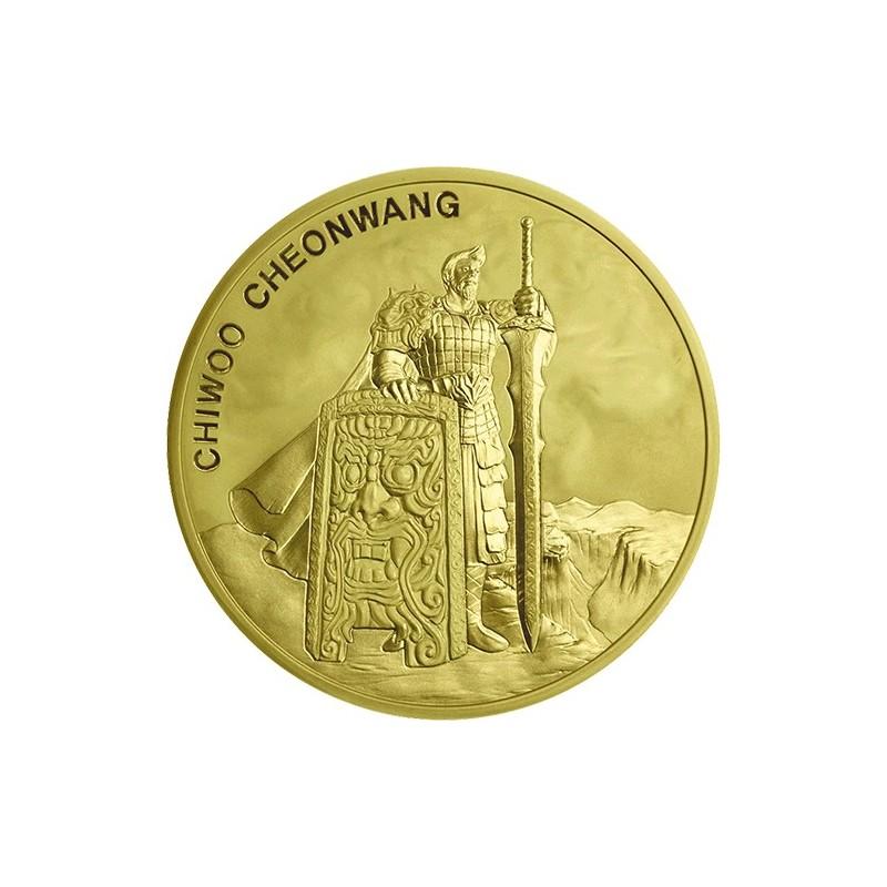 1 oz Unze SGold Südkorea South Korea Chiwoo Cheonwang 2018 1 Clay