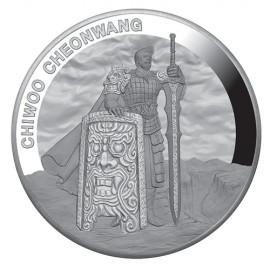1 oz Unze  Silber Südkorea South Korea Chiwoo Cheonwang 2019 1 Clay PP