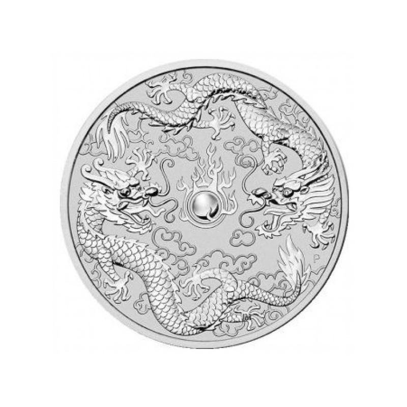 1 oz Dragon Tiger Perth Mint 2018