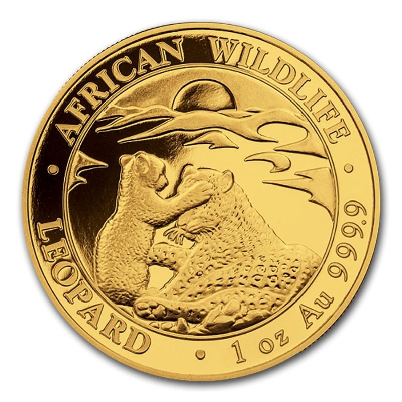 1 oz Somalia Leopard Gold 2019