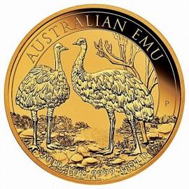 1 oz Gold emu