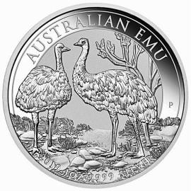 1 Unze Silber Emu Perth Mint 2019