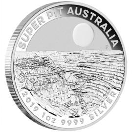 1 Unze Silber Super Pit  Perth Mint 2019