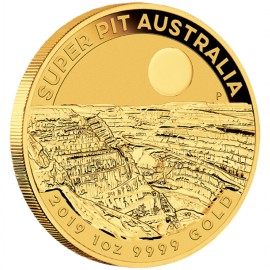 1 oz Unze Gold  Super Pit   Perth Mint 2019