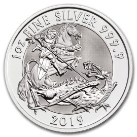 1 Unzen Silber Valiant 2019 Großbritannien BU