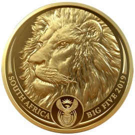 1 Unze oz Gold Big Five Löwe 2019