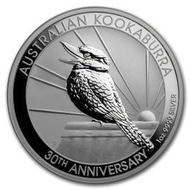 10 Unzen Silber Australien Kookaburra 2020