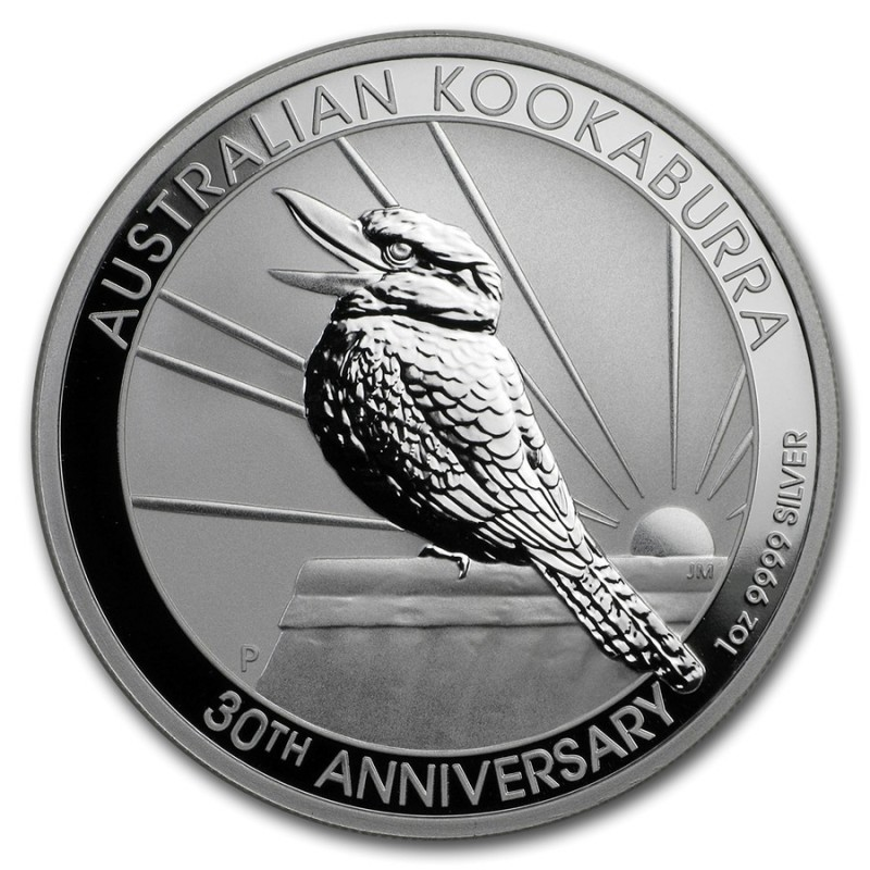 10 oz Silver Australien Kookaburra 2019