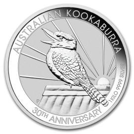 1 kg  Silber Australien Kookaburra 2020