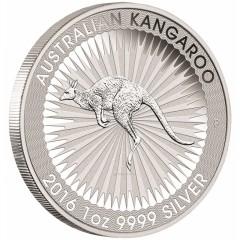 1 oz Kangaroo Nugget  2017 Silver
