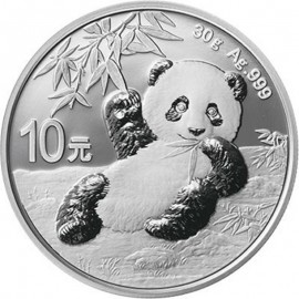 30 g Silber China Panda 2019