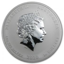 1 kg Silber diverse Motive/Jahrgänge  vornehmlich Koala/Kookaburra/Lunar