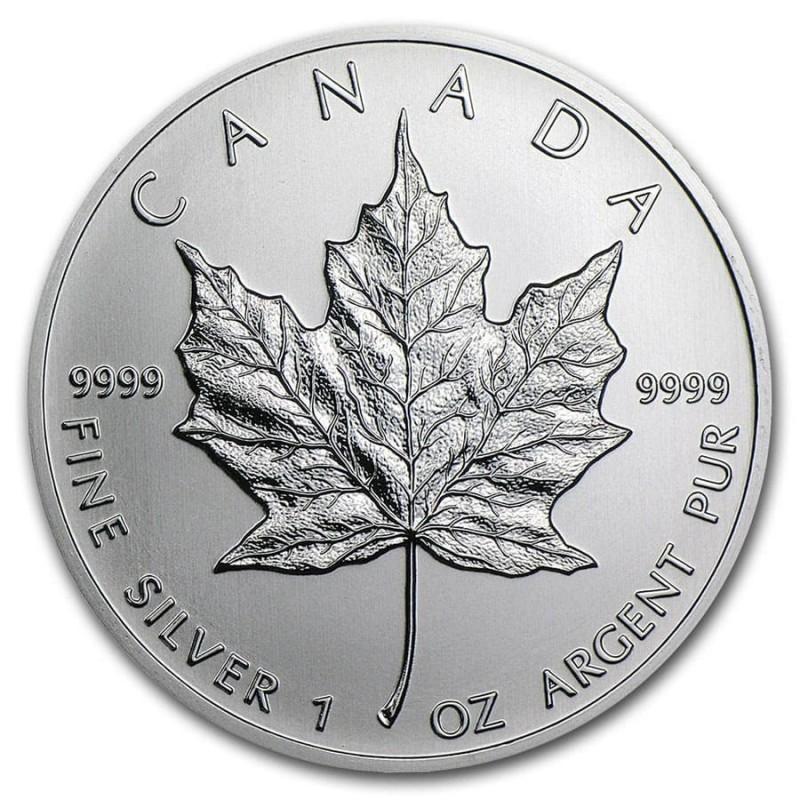 1 Unze Silber Maple Leaf 2019