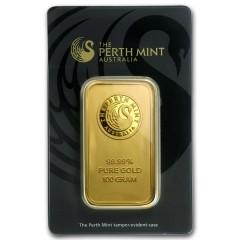 100 g Gold bar Heraeus