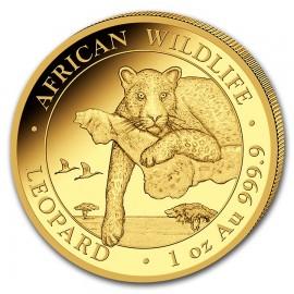 1 oz Somalia Leopard Gold 2020