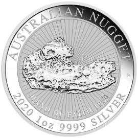 1 Unze Silber Nugget Perth Mint 2020