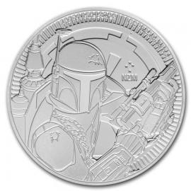 1 Unze oz Silber Boga Fett Niue 2020