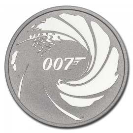 1 Unze Silber James Bond Perth Mint 2020