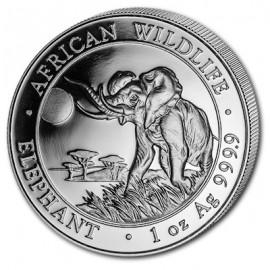 1 oz Silver Somalia Elefant 2016
