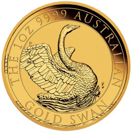 1 oz Unze Gold  Swan Schwan Perth Mint 2019