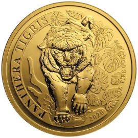 1 oz Gold Korean Tiger 2018 Box