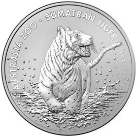1 Unze Silber Sumatra Tiger 2020