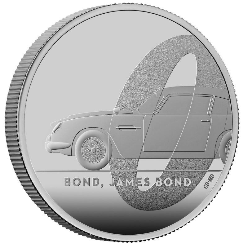 1 Unze Silber James Bond DB5 2020 PP