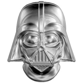 2 Unze oz   Silber Helm  STAR WARS™ - Darth Vader  PP  Ultra High Relief
