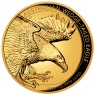 1 Unze Gold Wedge-Tailed Eagle High Relief PP mit Box 2020
