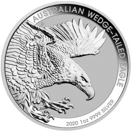 1 Unze Silber Wedge-Tailed Eagle 2020