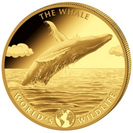 5 oz Gold World Wildlife Wal 2020