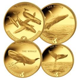 Big Five Gold Wal Set 2020(1/10, 1/4, 1/2, 1 Unze)