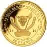 Big Five Gold Leopard Set 2017 (1/10, 1/4, 1/2, 1 Unze)