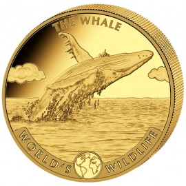 1 oz Gold World Wildlife Wal 2020 Kongo