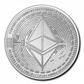 1 Unze Silber Ethereum Tschad 2020