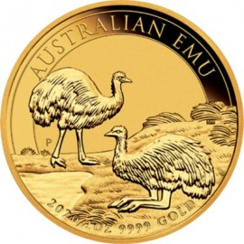 1 oz Unze Gold  Emu Perth Mint 2020