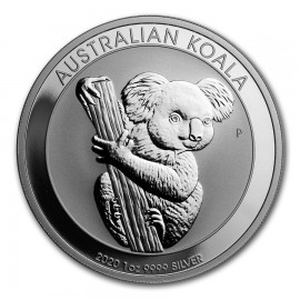 1 Unze Silber Koala 2020