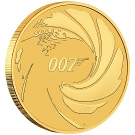 1/4 oz Unze James  Bond PP
