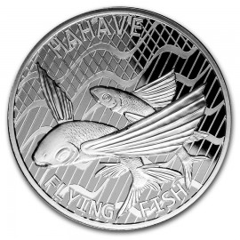 1 oz Silver  Mokelau Great White Shark 2015