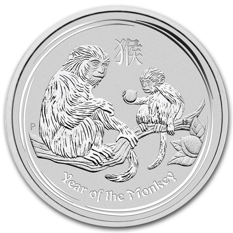 5 oz Silber Affe Lunar II 2016