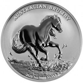 1 Unze Silber Stock Horse