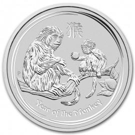 10  Unzen Silber Affe Lunar II 2016