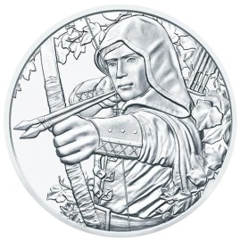 1 Unze Silber Münze Österreich 2019  Jubiläum 825th Robin hood