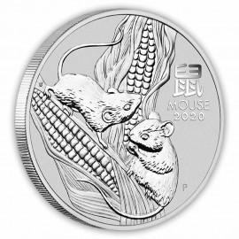 5 Unzen Silber Maus Lunar III 2020