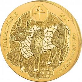 1 oz Rwanda 2018 Gold