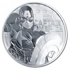1 Unze Silber Captain Amerika 2019  Tuvalu